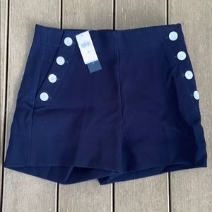 "NWT Banana Republic High Rise 3"" Sailor Shorts"